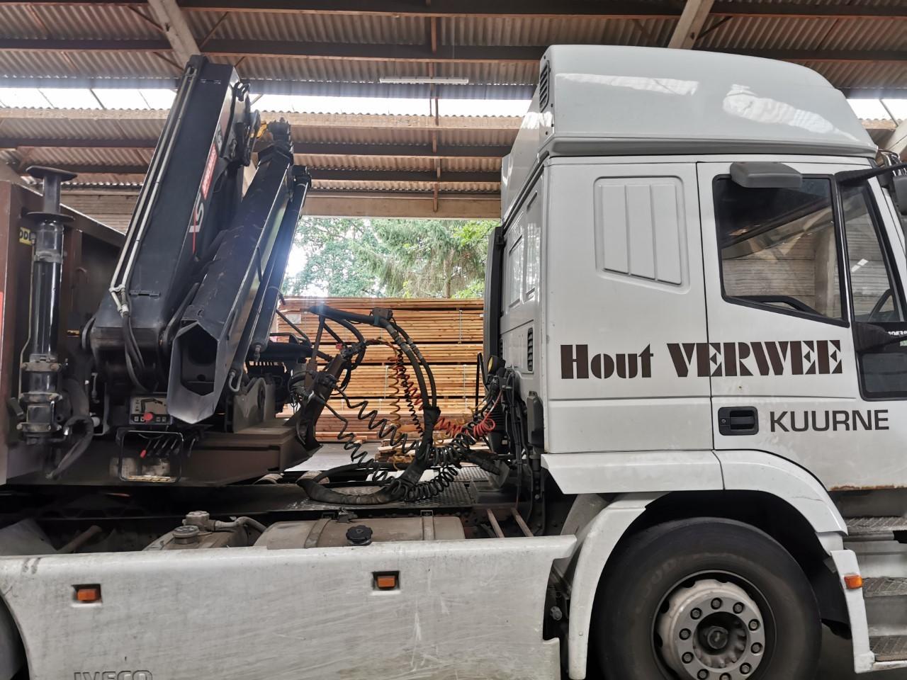 Vacature magazijnier / chauffer bij houthandel Verwee