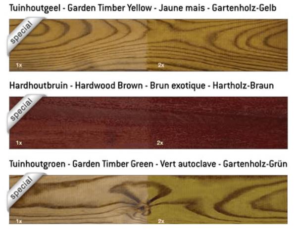 Restol kleuren | Houthandel Verwee
